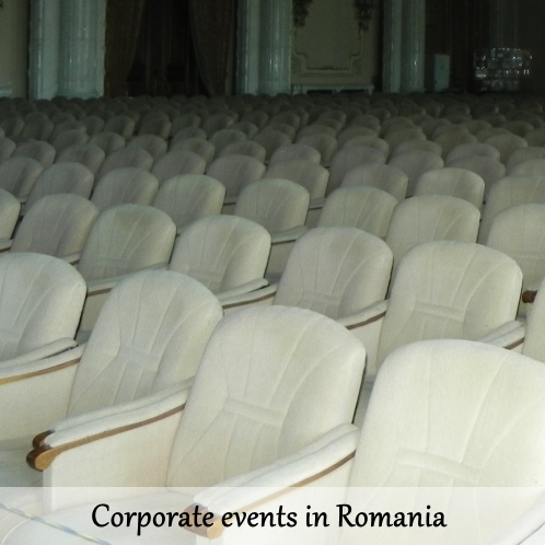 Corporate events in Romania