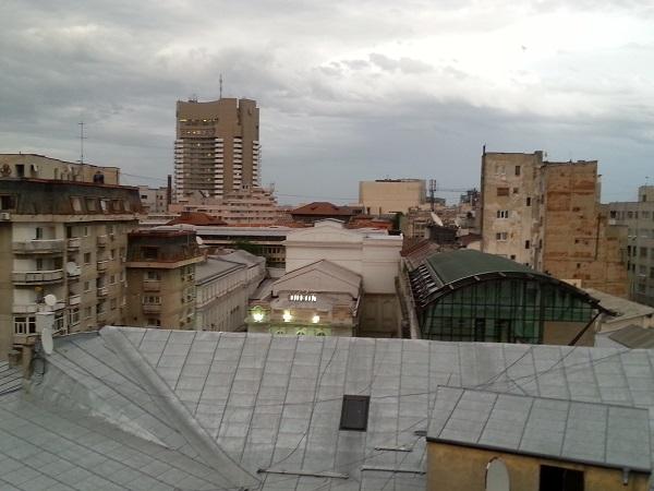 Bucharest's shades of grey