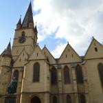 Church in Sibiu haunted Romania tour