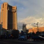 Bucharest classic tour Intercontinental hotel