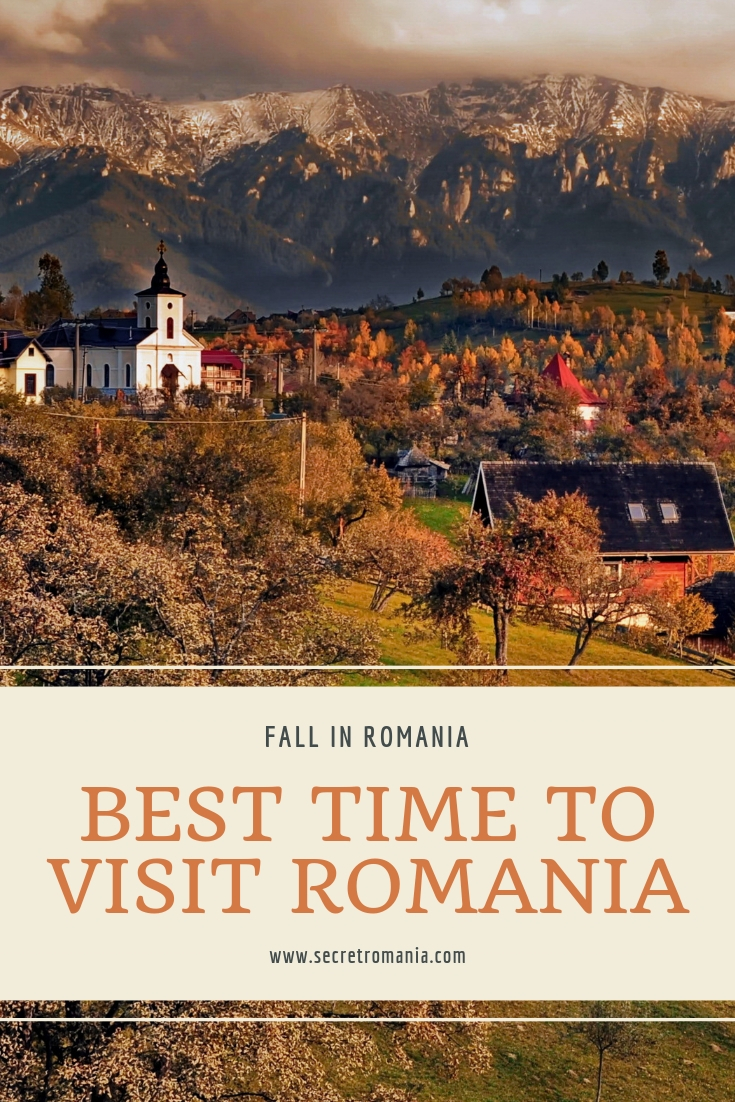 fall in romania