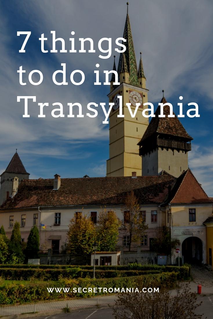 Medias Things to do in Transylvania