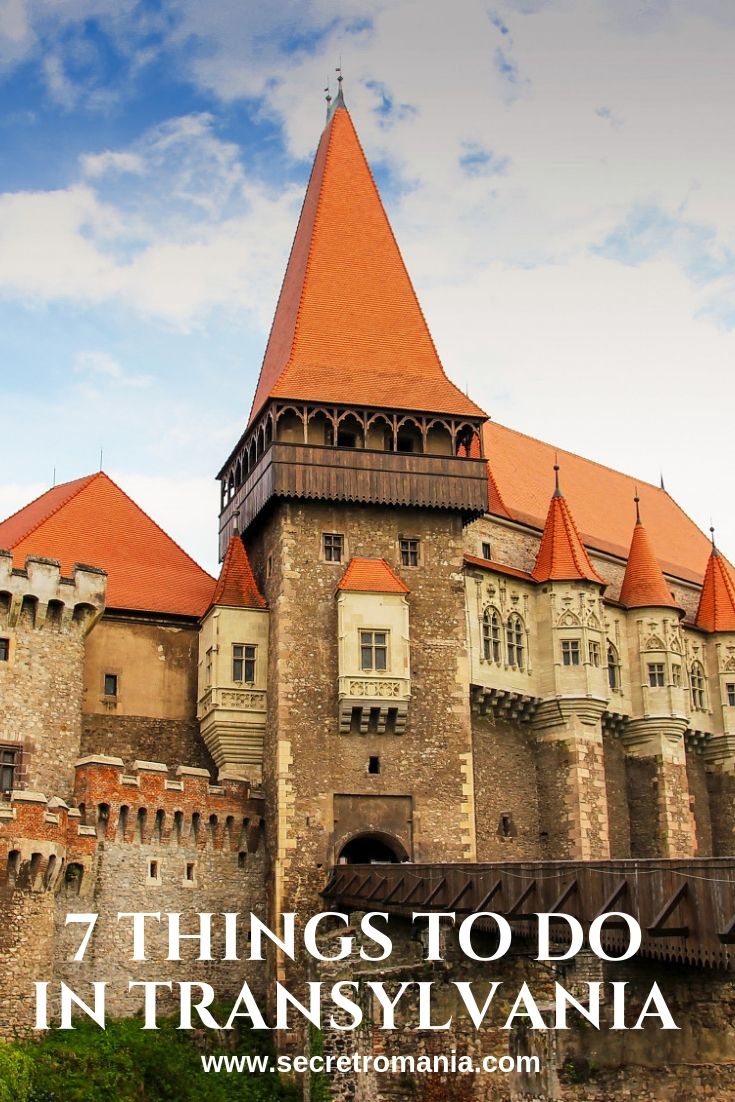 Corvinilor castle things to do in Transylvania