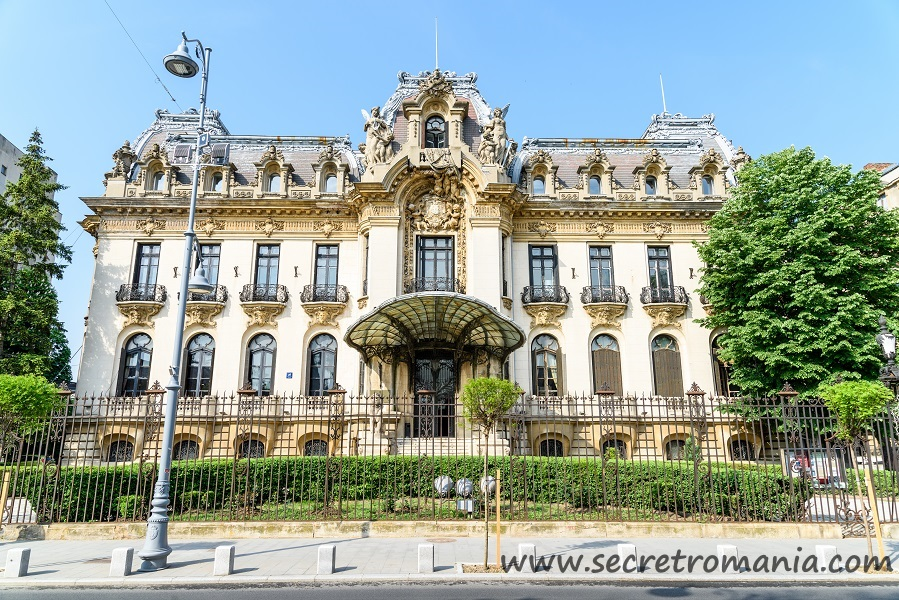Cantacuzino palace in Bucharest