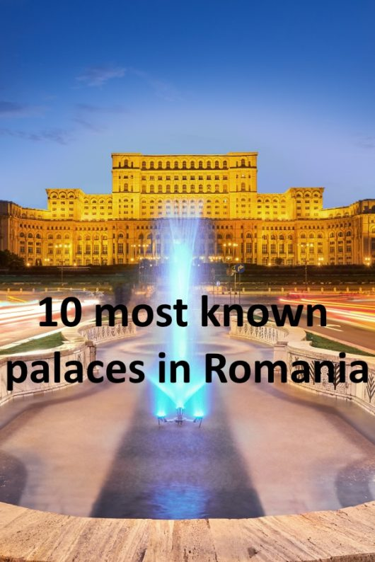 palaces in Romania