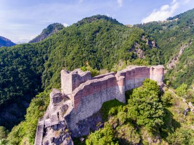 Poenari fortress, real Dracula castle