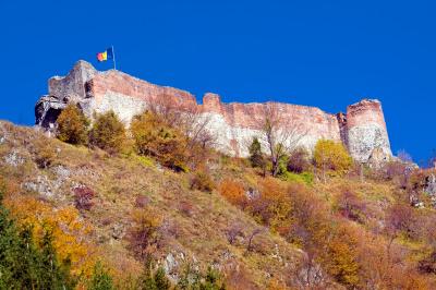 Poenari fortress Transfagarasan