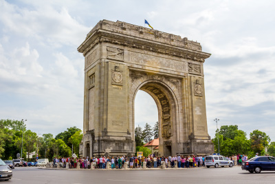 Triumph Arch Bucharest