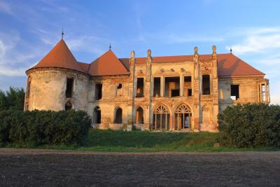 Bontida castle in Transylvania