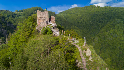 Poenari castle Vlad the Impaler
