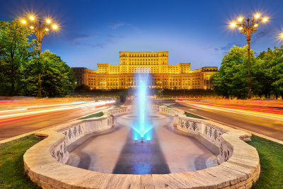 Parliament palace Bucharest tour