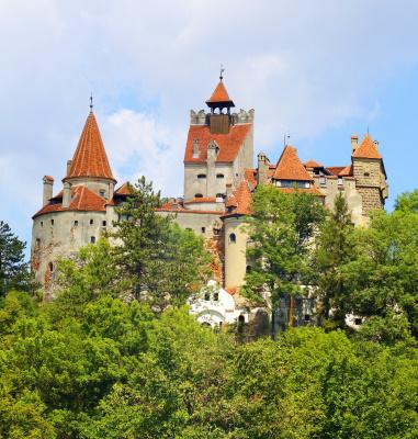 Bran castle, Dracula castle in Transylvania