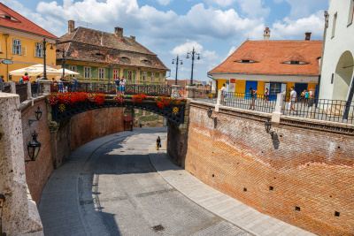 The legend of liars bridge in Sibiu