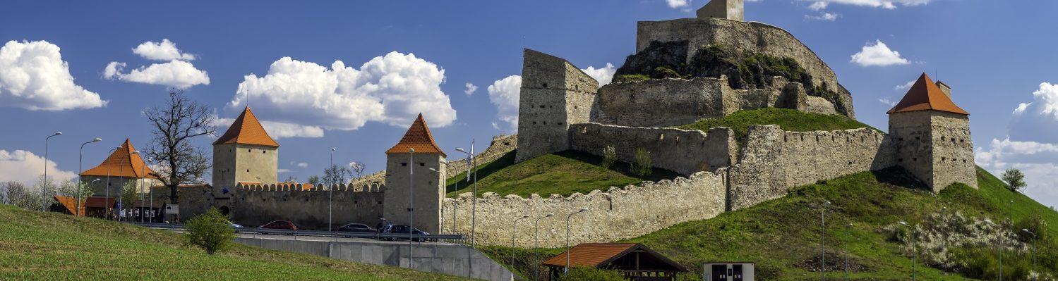 Rupea citadel in Transylvania