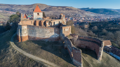 Slimnic fortress near Sibiu