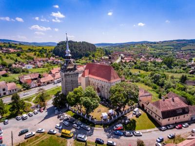 Saschiz fortified church in Transylvania