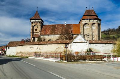 Valea viilor fortified church UNESCO heritage in Romania