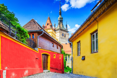 Sighisoara citadel UNESCO heritage in Romania