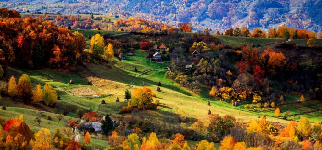 Romania in autumn