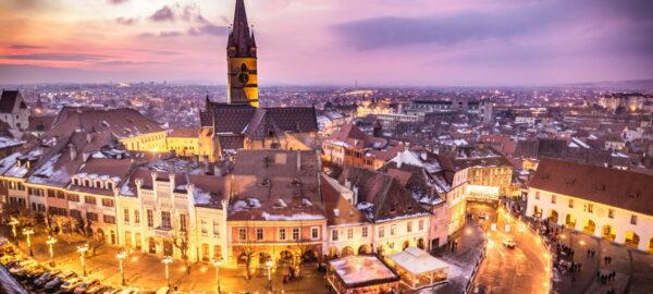 Cities in Romania