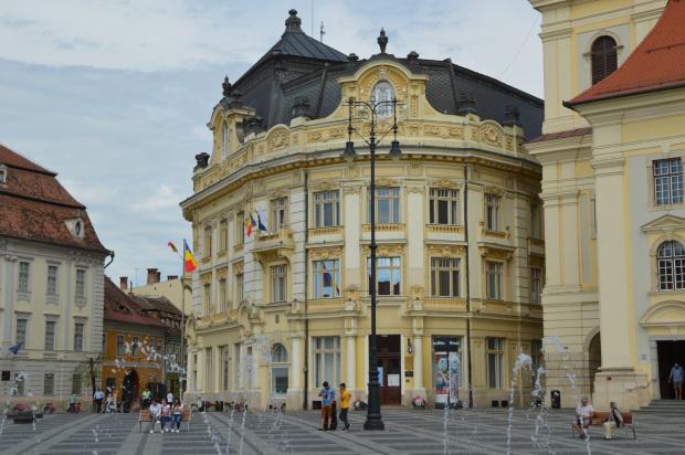 Sibiu most beautiful city in Romania