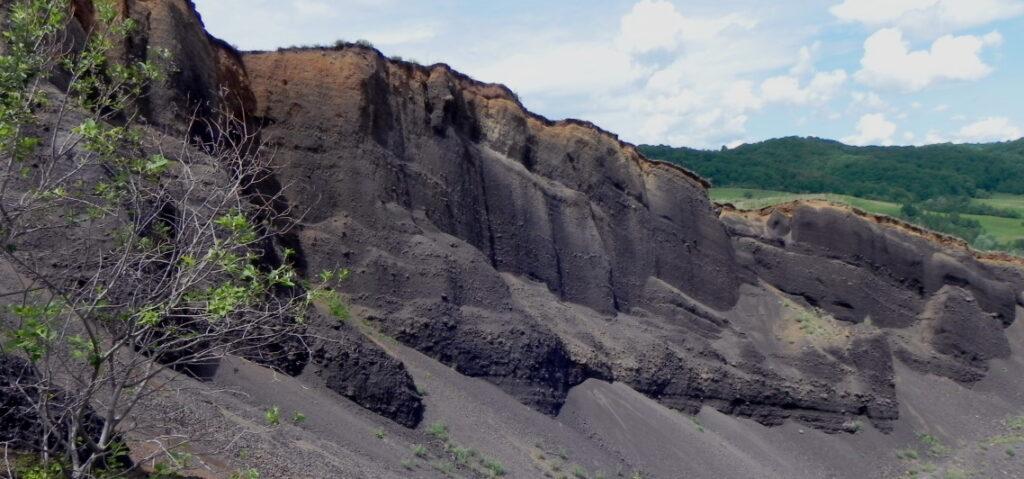 Volcano in Racos Romania