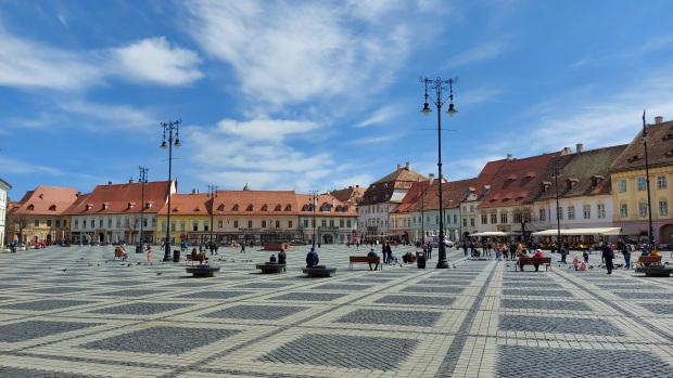 Large square Sibiu