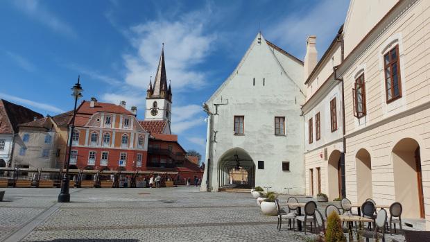 Small square Sibiu