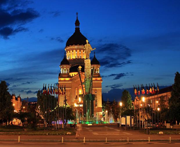Attractions in Cluj Napoca - Avram Iancu square