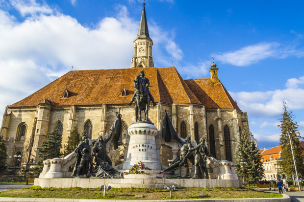 Cathedral in Cluj Napoca